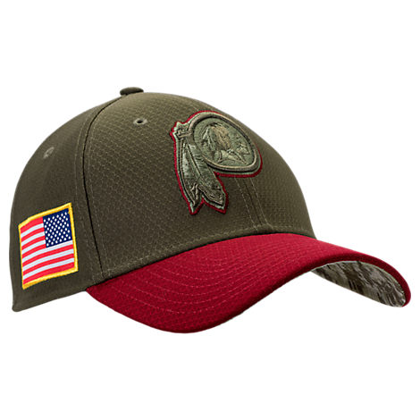 New Era Washington Redskins NFL Salute To Service 39THIRTY Fitted Hat
