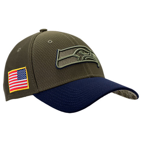 New Era Seattle Seahawks NFL Salute To Service 39THIRTY Fitted Hat