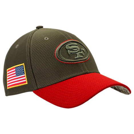New Era San Francisco 49ers NFL Salute To Service 39THIRTY Fitted Hat