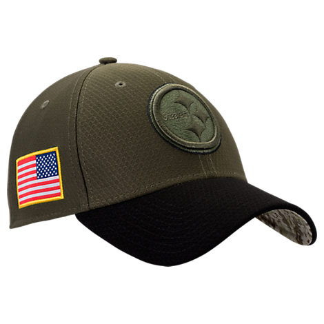 New Era Pittsburgh Steelers NFL Salute To Service 39THIRTY Fitted Hat