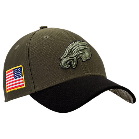 New Era Philadelphia Eagles NFL Salute To Service 39THIRTY Fitted Hat