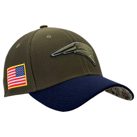 New Era New England Patriots NFL Salute To Service 39THIRTY Fitted Hat
