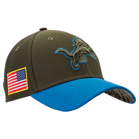 New Era Detroit Lions NFL Salute To Service 39THIRTY Fitted Hat