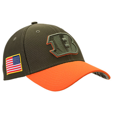 New Era Cincinnati Bengals NFL Salute To Service 39THIRTY Fitted Hat