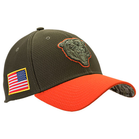 New Era Chicago Bears NFL Salute To Service 39THIRTY Fitted Hat