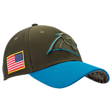 New Era Carolina Panthers NFL Salute To Service 39THIRTY Fitted Hat