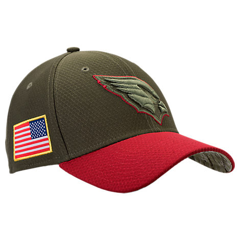 New Era Arizona Cardinals NFL Salute To Service 39THIRTY Fitted Hat