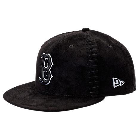 New Era Boston Red Socks MLB Interlace Snapback Hat