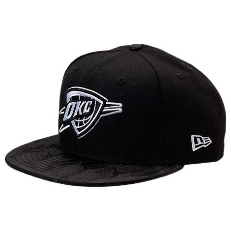 New Era Oklahoma City Thunder NBA Camo Shade Hat