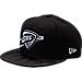 Front view of New Era Oklahoma City Thunder NBA Camo Shade Hat in Black