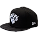 Front view of New Era New York Knicks NBA Camo Shade Hat in Black