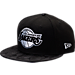 Front view of New Era Los Angeles Lakers NBA Camo Shade Hat in Black