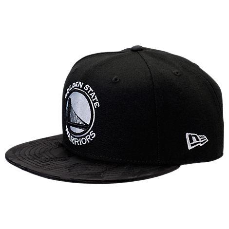 New Era Golden State Warriors NBA Camo Shade Hat