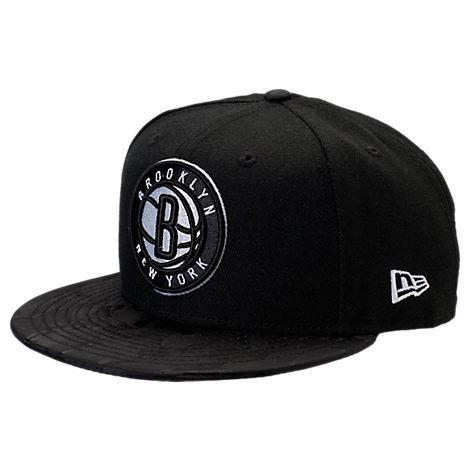 New Era Brooklyn Nets NBA Camo Shade Hat