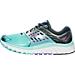 Left view of Women's Brooks Glycerin 14 Running Shoes in Aqua/Black/Purple