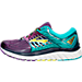 Left view of Women's Brooks Glycerin 14 Running Shoes in Pansy/Ceramic/Lime Punch