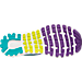 Bottom view of Women's Brooks Glycerin 14 Running Shoes in Pansy/Ceramic/Lime Punch