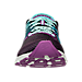 Front view of Women's Brooks Hyperion Running Shoes in Black/Dewberry/Aruba Blue