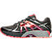 Left view of Women's Brooks Adrenaline 17 GTS Running Shoes in Anthracite/Festival Fuchsia/Bitters