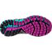 Bottom view of Women's Brooks Adrenaline 17 GTS Running Shoes in Silver/Purple Cactus Flower/Bluebird