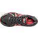 Top view of Women's Brooks Adrenaline 17 GTS Wide Running Shoes in Anthracite/Festical Fuchsia/Bitters