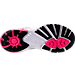 Bottom view of Women's Brooks PureCadence 6 Running Shoes in Castle Rock/Black/Diva Pink