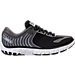 Right view of Women's Brooks PureFlow 6 Running Shoes in Black/Anthracite/Silver