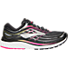 Right view of Women's Brooks Glycerin 15 Running Shoes in Black/Pink Peacock/Plum