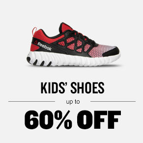 Kids' Shoes up to 60% off