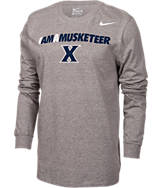 Men's Nike Xavier Musketeers College Core Long-Sleeve T-Shirt
