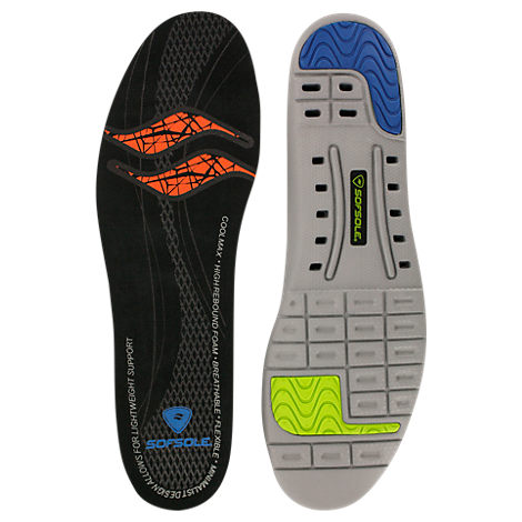 Men's Sof Sole Thin Fit Insole Size 7-8.5