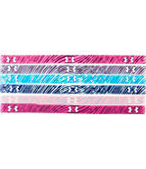 Girls' Under Armour Graphic Mini 6-Pack Headbands