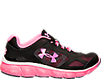 Girls' Grade School Under Armour Micro G Assert V Running Shoes