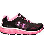 Girls' Grade School Under Armour Micro G Assert V Running Shoes