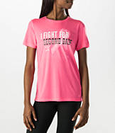 Women's Under Armour Power In Pink Check Yourself T-Shirt