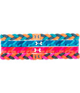 Girls' Under Armour 4-Pack Graphic Elastic Headbands