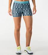 Women's Under Armour HeatGear Alpha Printed Compression Shorty Shorts