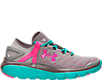 Girls' Grade School Under Armour Speedform Fortis Running Shoes