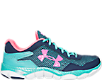 Girls' Grade School Under Armour Engage II BL Running Shoes