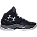 Right view of Men's Under Armour Curry 2 Basketball Shoes in Black/Graphite
