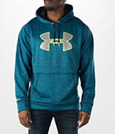 Men's Under Armour Storm Twist Big Logo Fleece Hoodie