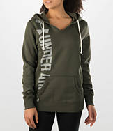 Women's Under Armour Cotton Fleece Branded Wordmark Hoodie