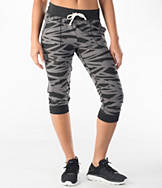 Women's Under Armour Charged Cotton Tri-Blend Printed Capris