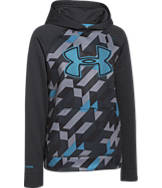 Boys' Under Armour Storm Fleece Printed Big Logo Hoodie