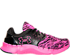 Girls' Grade School Under Armour Flow Running Shoes
