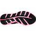 Bottom view of Girls' Grade School Under Armour Assert 6 Running Shoes in Black/Pink
