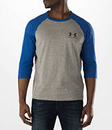 Men's Under Armour Tri-Blend 3/4 Sleeve Length T-Shirt