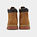 Left view of Timberland Preschool 6 Inch Boot in Wheat