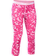 Girls' Under Armour HeatGear Armour Printed Capris
