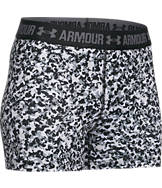 Women's Under Armour HeatGear 3 Inch Printed Compression Training Shorts
